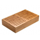 Tagliere con griglia antibriciola in bamboo Asia