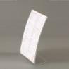Supporto curvo plexiglass A4