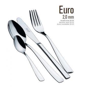 Coltello tavola non forgiato mod.Euro 12 Pz.