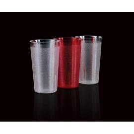 Bicchiere policarbonato trasparente 0,33 cl