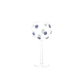 Bicchiere liquore vetro borosilicato dec.3