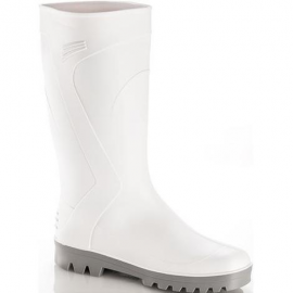 Stivali bianchi Dyablo con puntale S4