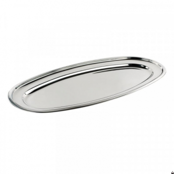 Vassoio ovale acciaio inox