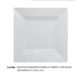 Vassoio quadrato fondo 46x46