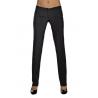 Pantalone da sala nero donna SLIM