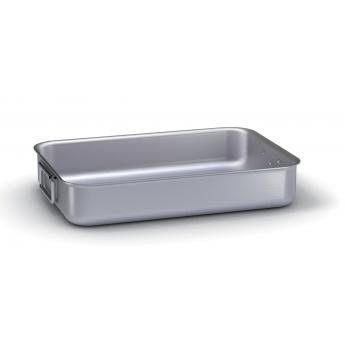 Rostiera alluminio alta 60x43x10