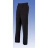 Pantalone da sala nero con pinces