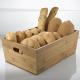 Cestino Porta pane in bamboo 30x20x11