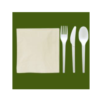 Tris posate biodegradabili