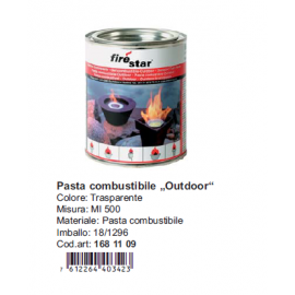 Pasta combustibile Fire Star 500 ml