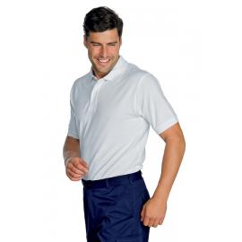 Polo unisex m/manica cotone piquè Isacco