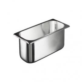 Vaschetta gelateria inox 36x16,5x18 lt.7,5