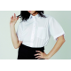 Camicia donna bianca mezza manica