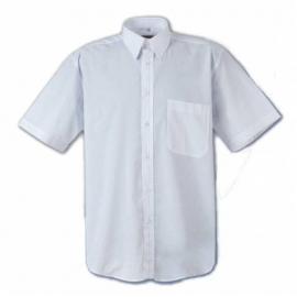 Camicia uomo bianca manica corta