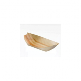 Piroga in legno piccola Pz.100