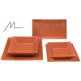 Piatto arancio lucido Stoneware