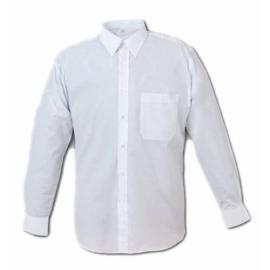 Camicia uomo bianca manica lunga
