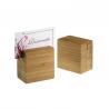 Porta numero in bamboo